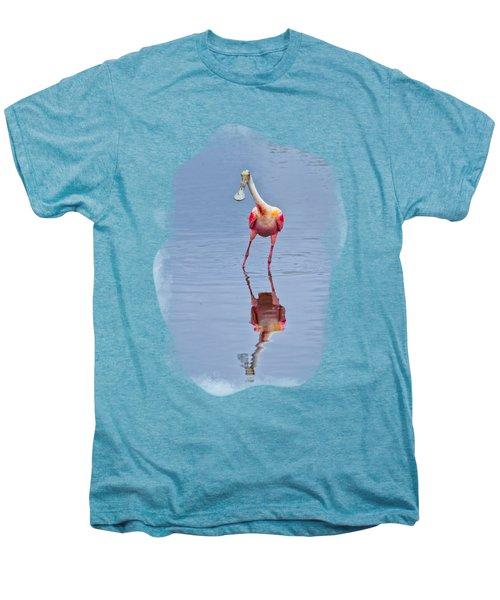 Spoonbill 1 Men's Premium T-Shirt by John M Bailey
