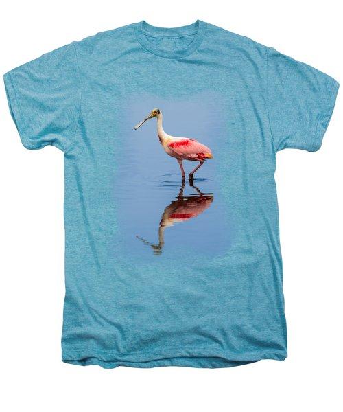 Spoonbill 3 Men's Premium T-Shirt by John M Bailey