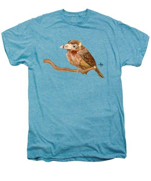 Spot-billed Toucanet Men's Premium T-Shirt by Angeles M Pomata