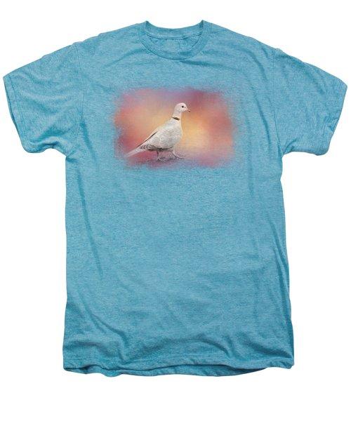 Spring Eurasian Collared Dove Men's Premium T-Shirt by Jai Johnson