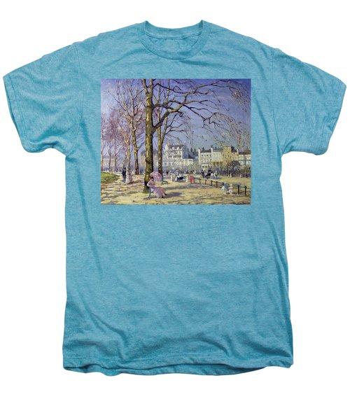 Spring In Hyde Park Men's Premium T-Shirt by Alice Taite Fanner
