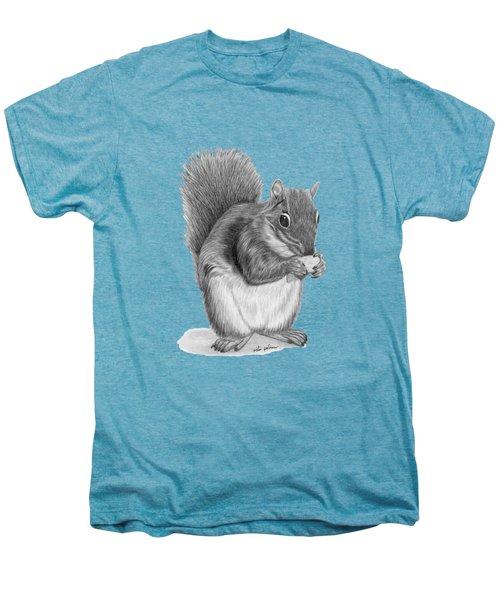 Squirrel #2 Men's Premium T-Shirt by Rita Palmer