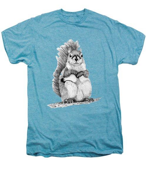 Squirrel Men's Premium T-Shirt by John Stuart Webbstock