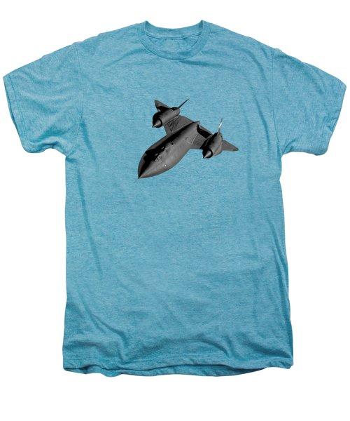 Sr-71 Blackbird Flying Men's Premium T-Shirt by War Is Hell Store