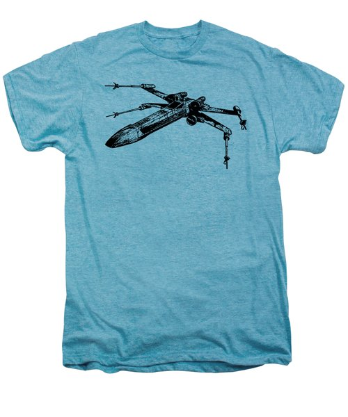 Star Wars T-65 X-wing Starfighter Tee Men's Premium T-Shirt by Emf