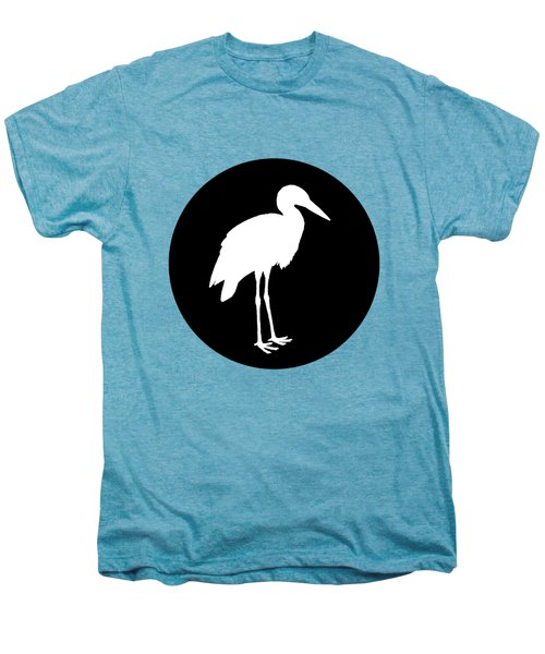 Stork Men's Premium T-Shirt by Mordax Furittus