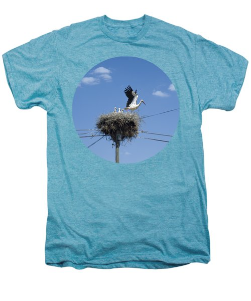 Storks Nest Alentejo Men's Premium T-Shirt by Mikehoward Photography