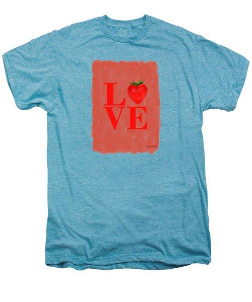 Strawberry Men's Premium T-Shirt by Mark Rogan