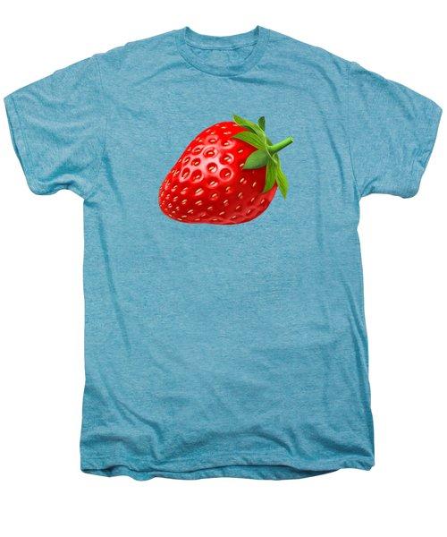 Strawberry Men's Premium T-Shirt by T Shirts R Us -