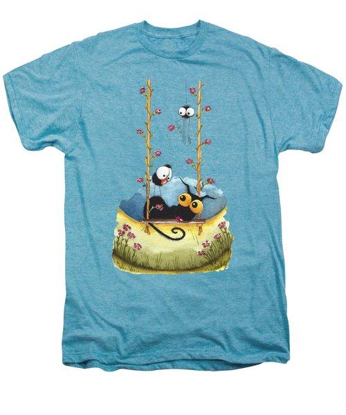 Summer Swing Men's Premium T-Shirt by Lucia Stewart