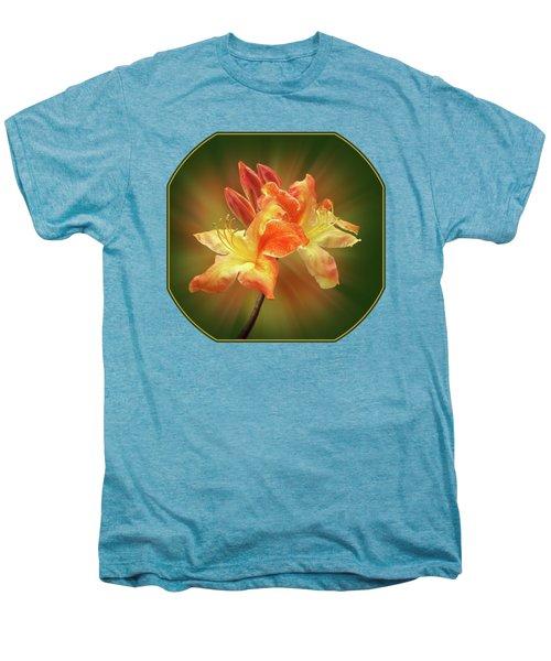 Sunburst Orange Azalea Men's Premium T-Shirt by Gill Billington