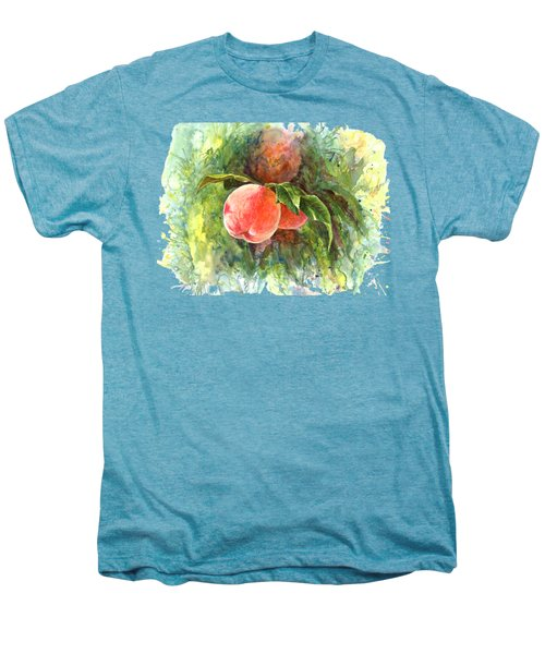Sunny Peaches Men's Premium T-Shirt by Irina Viatkina