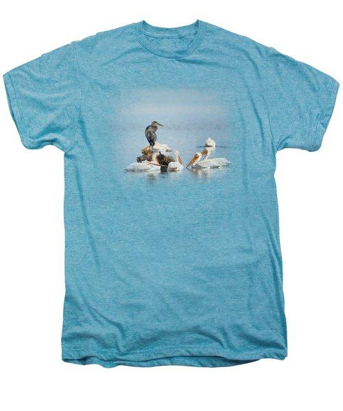 Support Group Men's Premium T-Shirt by Jai Johnson