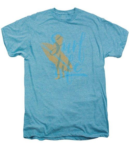 Surf Life 2 Men's Premium T-Shirt by SoCal Brand