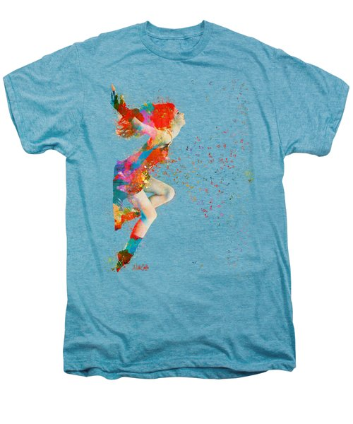 Sweet Jenny Bursting With Music Men's Premium T-Shirt by Nikki Smith