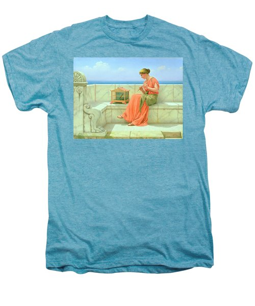 Sweet Sounds Men's Premium T-Shirt by John William Godward