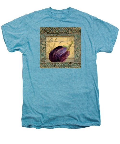 Tavolo, Italian Table, Eggplant Men's Premium T-Shirt by Mindy Sommers
