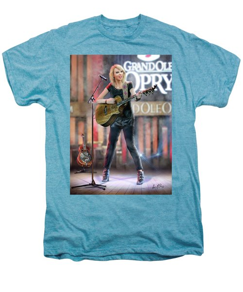 Taylor At The Opry Men's Premium T-Shirt by Don Olea