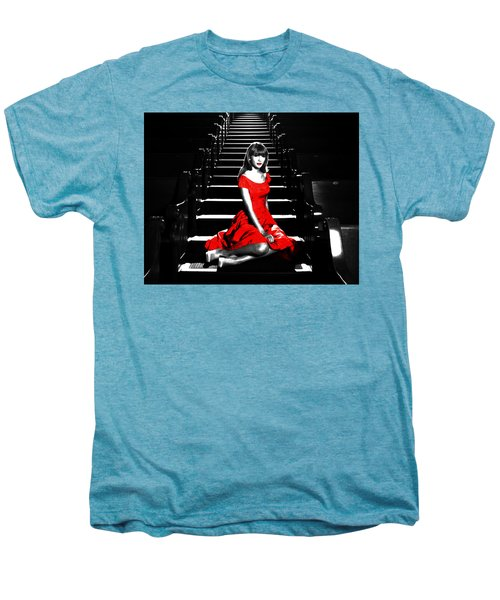 Taylor Swift 8c Men's Premium T-Shirt by Brian Reaves
