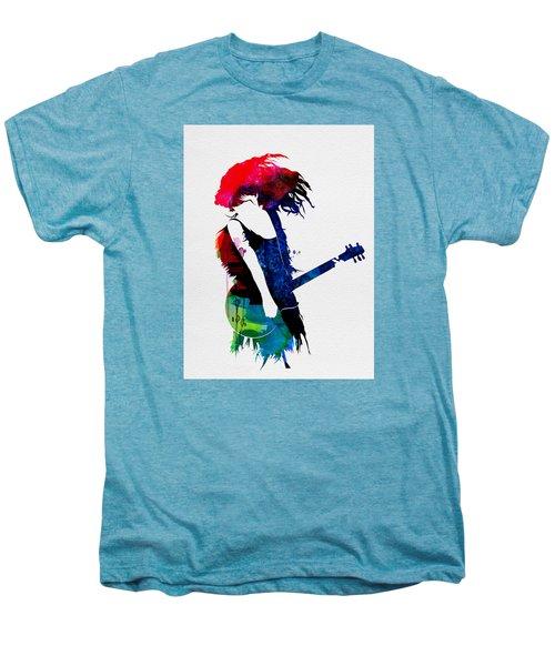 Taylor Watercolor Men's Premium T-Shirt by Naxart Studio