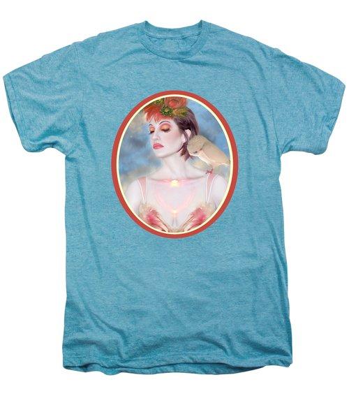 The Avian Dream - Self Portrait Men's Premium T-Shirt by Jaeda DeWalt