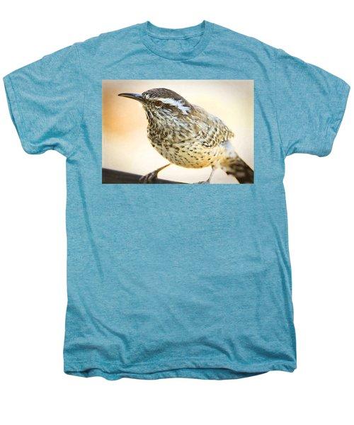 The Cactus Wren  Men's Premium T-Shirt by Saija  Lehtonen