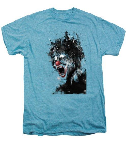 The Clown Men's Premium T-Shirt by Balazs Solti