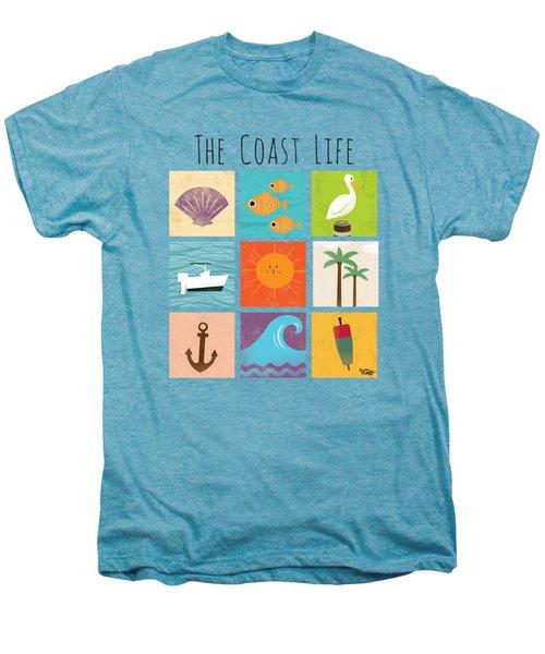The Coast Life Men's Premium T-Shirt by Kevin Putman