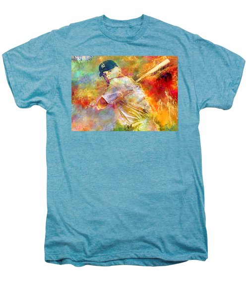 The Commerce Comet Men's Premium T-Shirt by Mal Bray