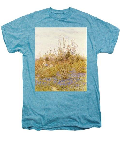 The Cuckoo Men's Premium T-Shirt by Helen Allingham