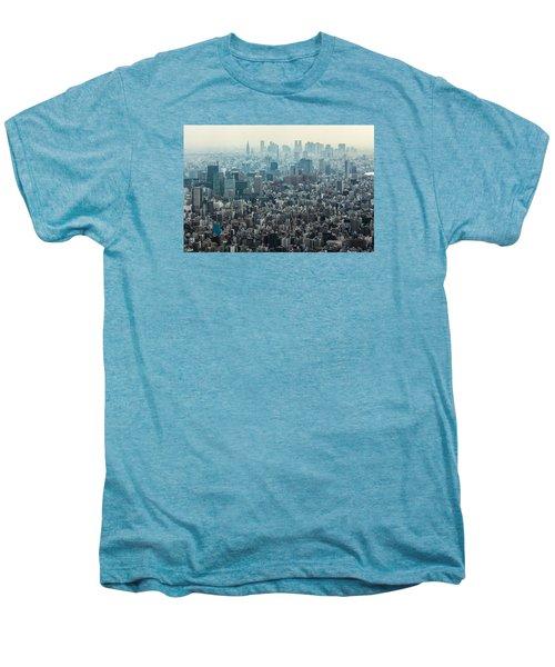 The Great Tokyo Men's Premium T-Shirt by Peteris Vaivars
