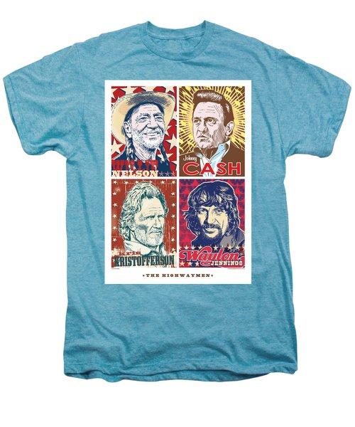 The Highwaymen Men's Premium T-Shirt by Jim Zahniser