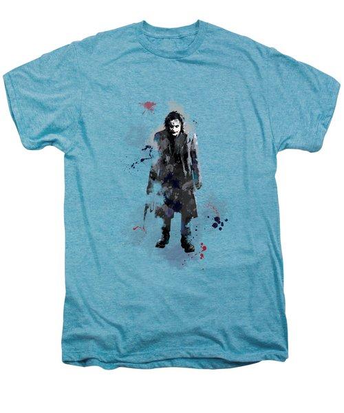 The Joker Men's Premium T-Shirt by Marlene Watson