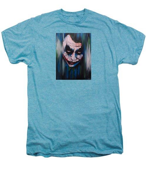 The Joker Men's Premium T-Shirt by Michael Walden