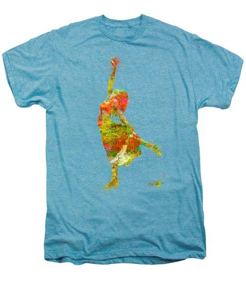 The Music Rushing Through Me Men's Premium T-Shirt by Nikki Smith