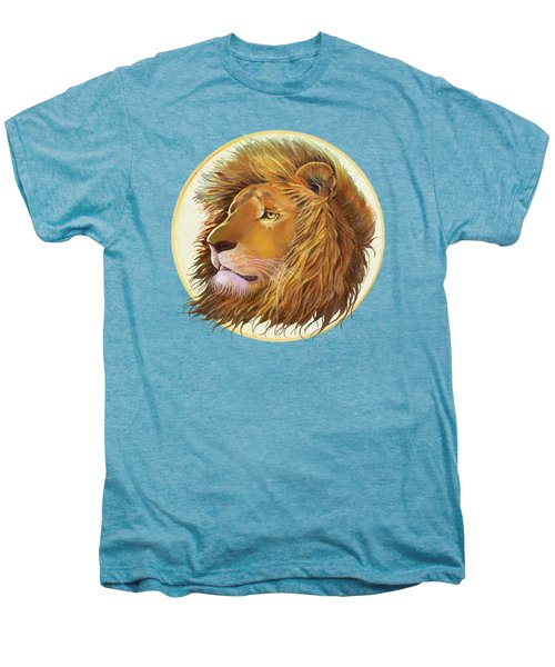 The One True King - Color Men's Premium T-Shirt by J L Meadows