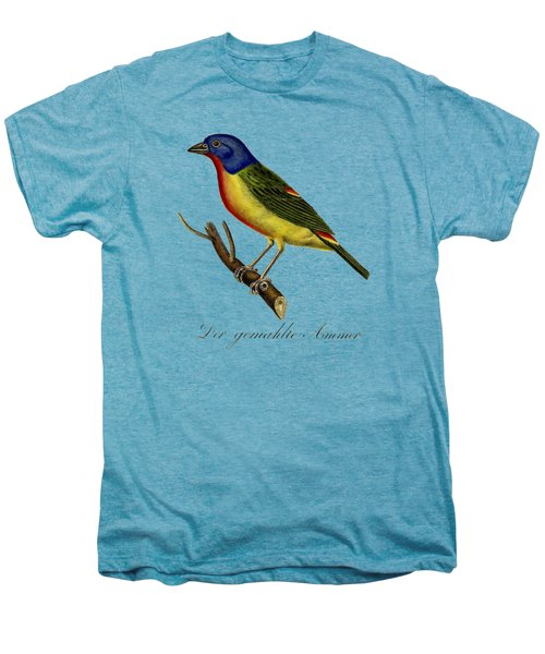 The Painted Bunting Men's Premium T-Shirt by Unknown