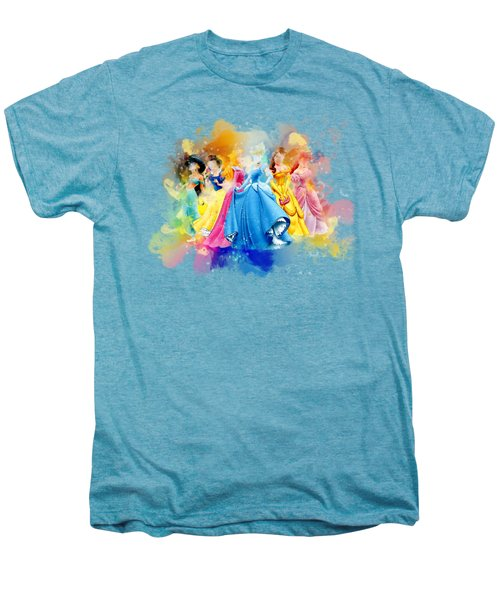 The Princess Men's Premium T-Shirt by Rinaldo Ananta