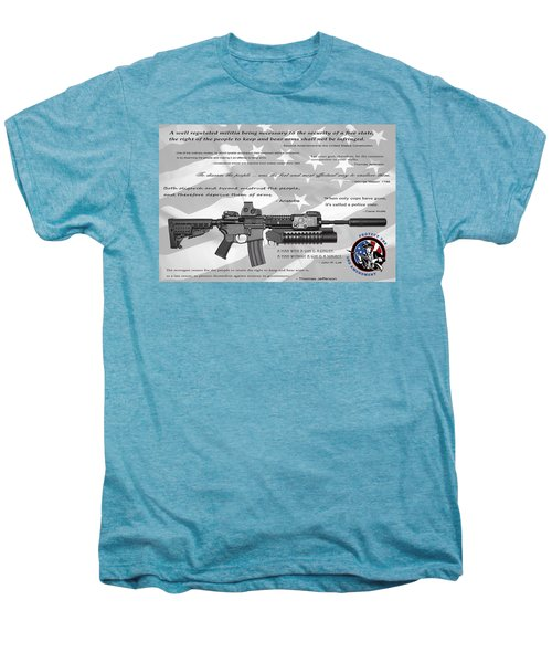 The Right To Bear Arms Men's Premium T-Shirt by Daniel Hagerman