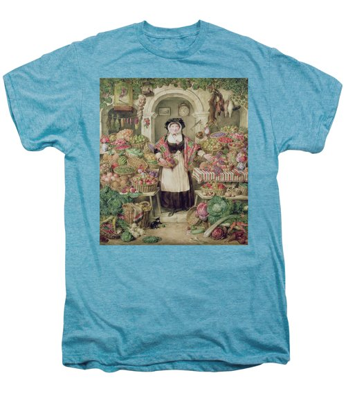 The Vegetable Stall  Men's Premium T-Shirt by Thomas Frank Heaphy