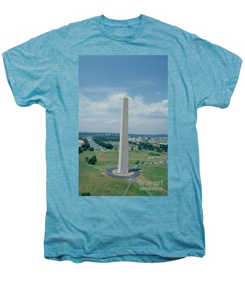 The Washington Monument Men's Premium T-Shirt by American School