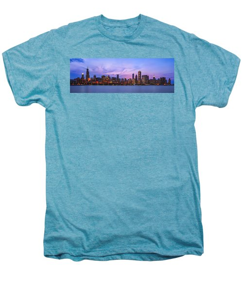 The Windy City Men's Premium T-Shirt by Scott Norris