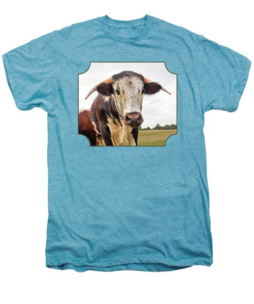 This Is My Field Men's Premium T-Shirt by Gill Billington