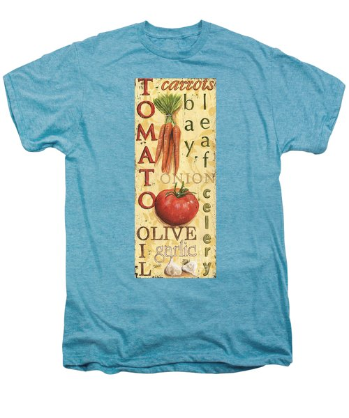 Tomato Soup Men's Premium T-Shirt by Debbie DeWitt