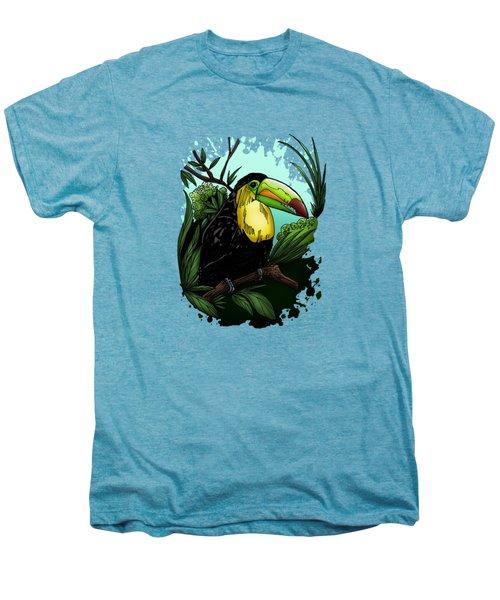 Toucan Men's Premium T-Shirt by Adam Santana