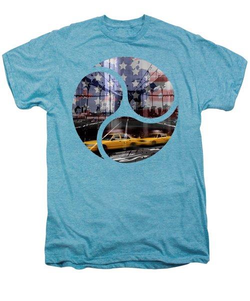 Trendy Design Nyc Composing Men's Premium T-Shirt by Melanie Viola