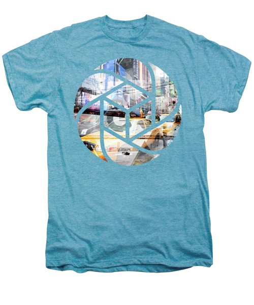 Trendy Design Nyc Geometric Mix No 9 Men's Premium T-Shirt by Melanie Viola