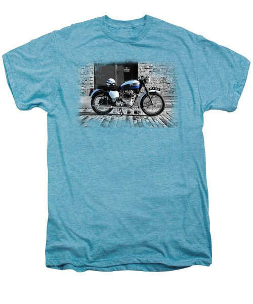 Triumph Bonneville T120 Men's Premium T-Shirt by Mark Rogan