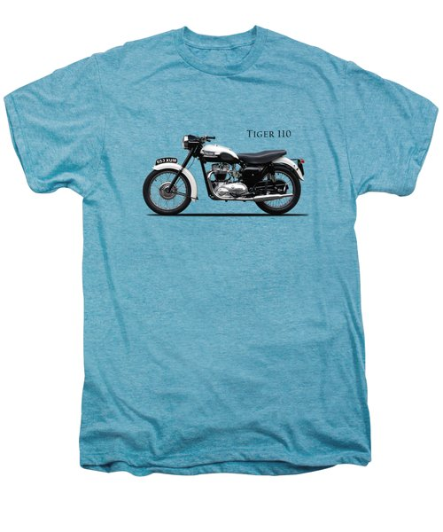 Triumph Tiger 1959 Men's Premium T-Shirt by Mark Rogan