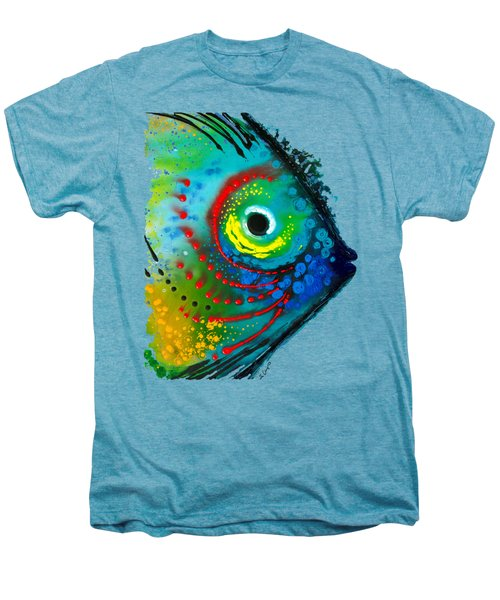 Tropical Fish - Art By Sharon Cummings Men's Premium T-Shirt by Sharon Cummings